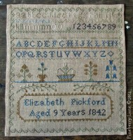 Elizabeth Pickford 1842 E-pattern