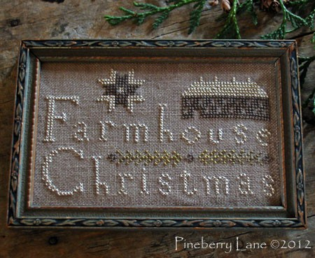 Farmhouse Christmas E-pattern