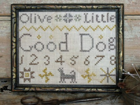 Good Dog Marking Sampler E-pattern