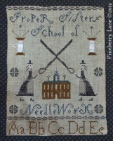 Proper Sisters School of Needlework E-pattern