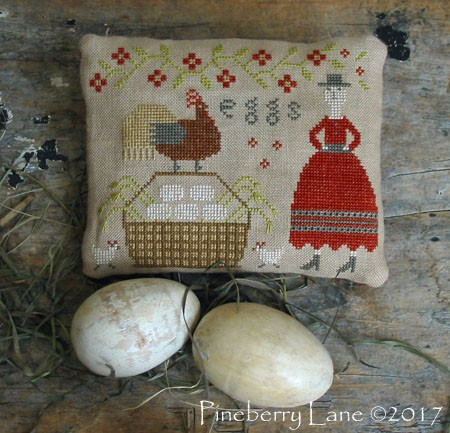 Sister's Farm Fresh Eggs E-pattern