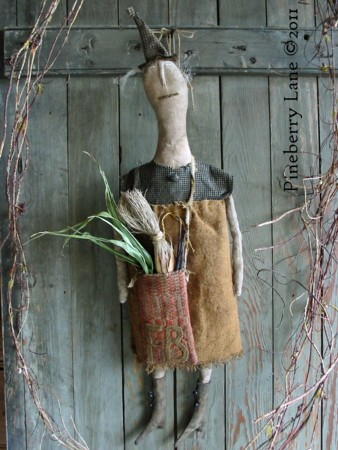 Fancey Blackett Primitive Doll