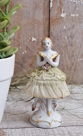 Sweet Ballerina Porcelain Figurine