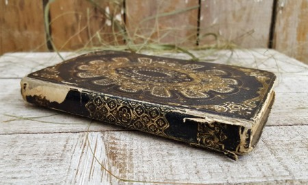 Beautiful Old French Book 1850