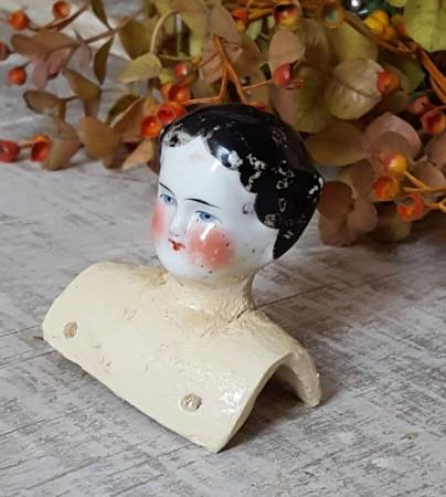 Sweet Old China Doll Head