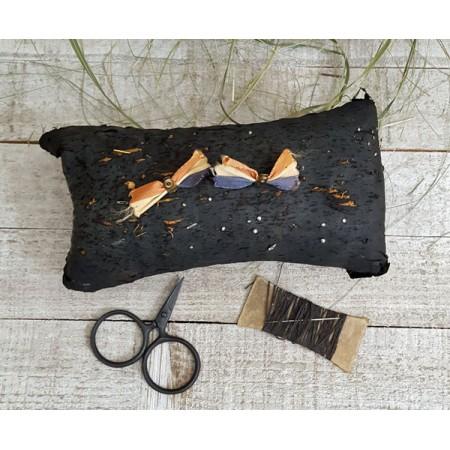 Early Black Silk Pincushion