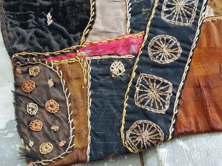 Crazy Quilt - Doll Size - Free Shipping in USA!