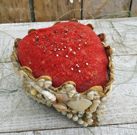 Velvet Heart Pincushion