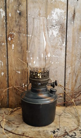 Beautiful Old Oil Lamp