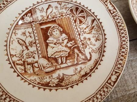 Little Mae Plate & Saucer