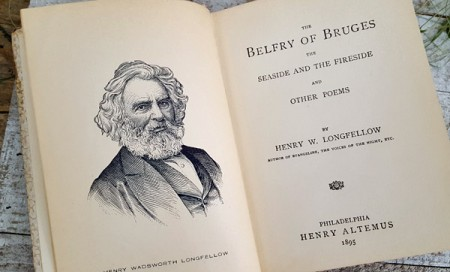 Slim Volume of Longfellow's Poems