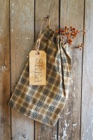 Netty LaCroix Large Plaid Seed Bag