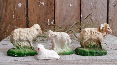 Chalkware Sheep - Flock A