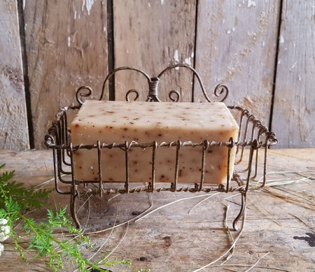 Wire Footed Soap Dish #1