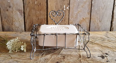 Wire Footed Soap Dish #2