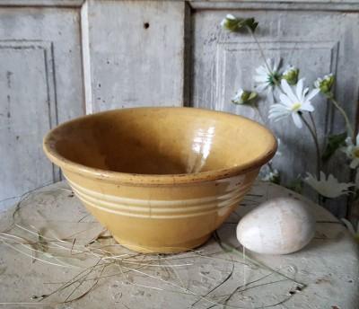 Yellow Ware Bowl #1 - Small
