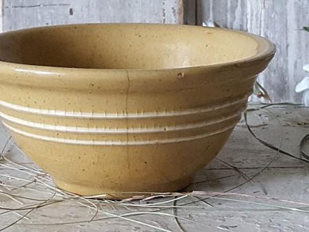 Yellow Ware Bowl #4 - Tiny!