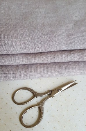 32 Count Confederate Gray Weeks Dye Works Linen
