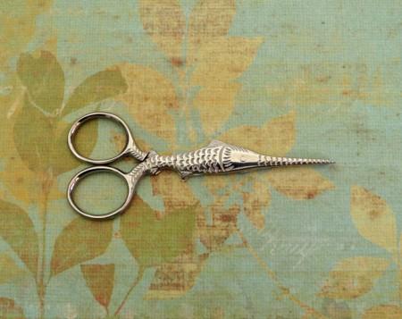 Swordfish Scissors - Silver