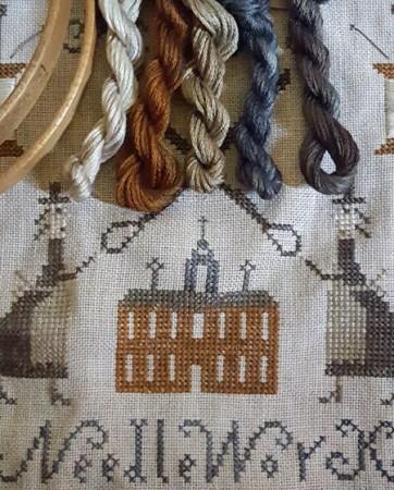 Proper Sisters School of Needlework Partial Floss Pack