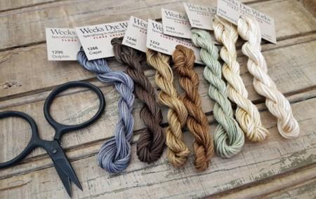 Wool & Flax Floss Pack